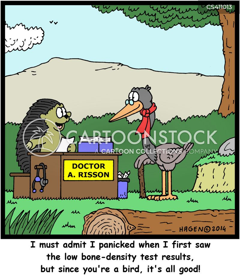 bone specialists cartoon