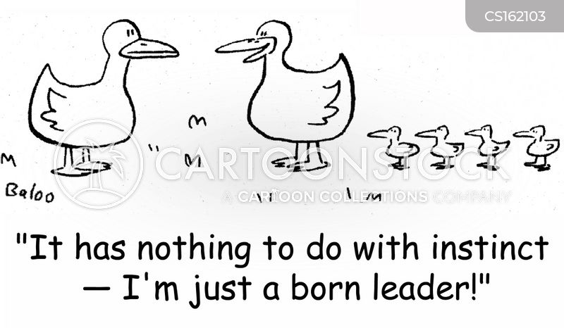 Follow The Leader Cartoons and Comics - funny pictures ...