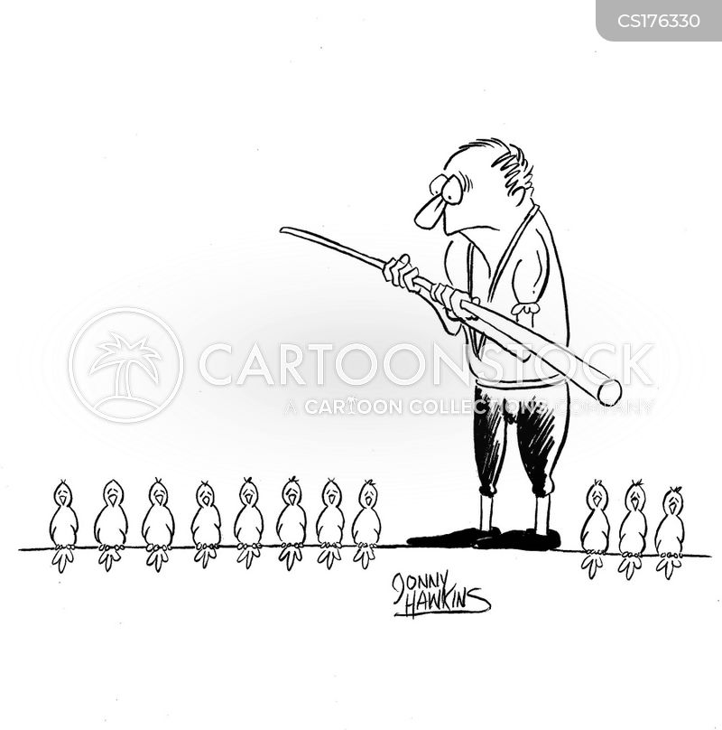 high wire walker cartoon