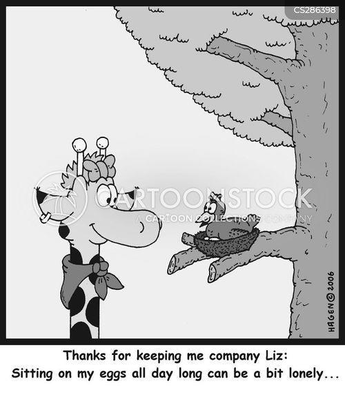 keeping company cartoon