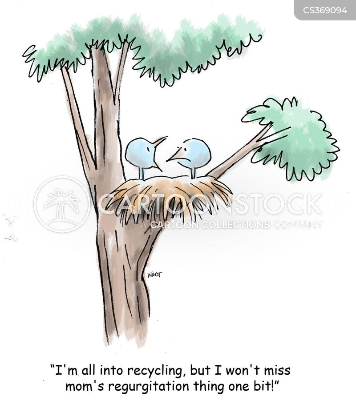 regurgitations cartoon