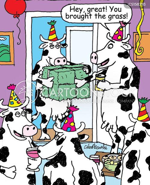house parties cartoon