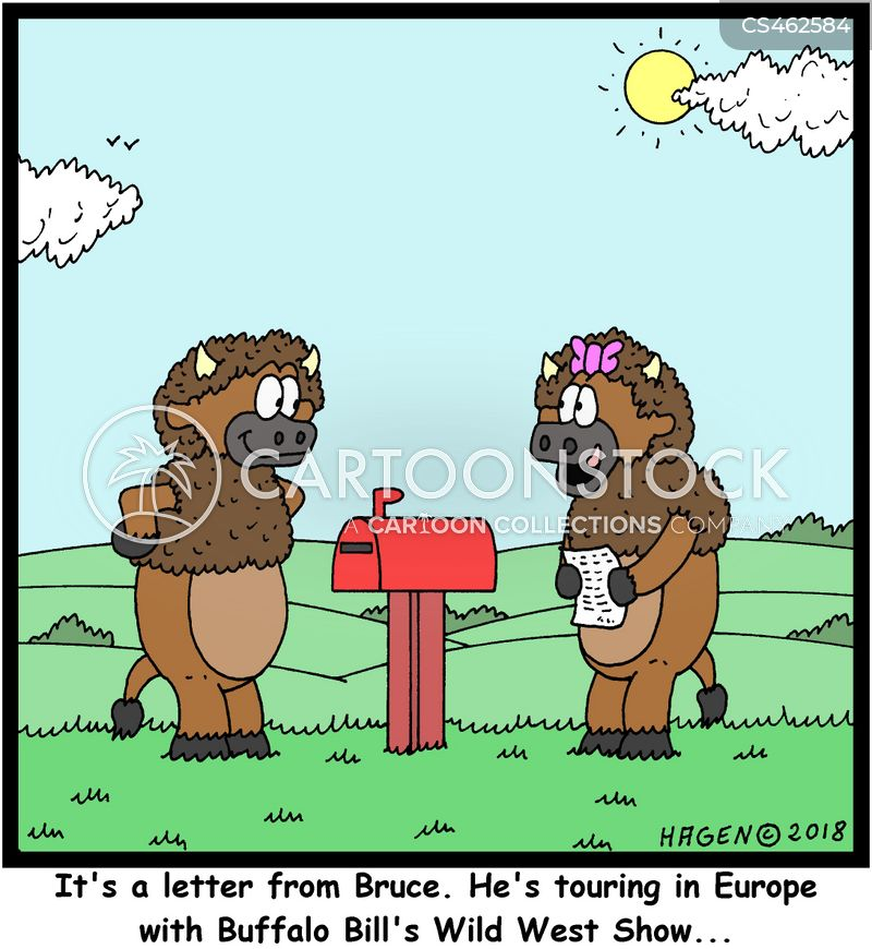 post cards cartoon