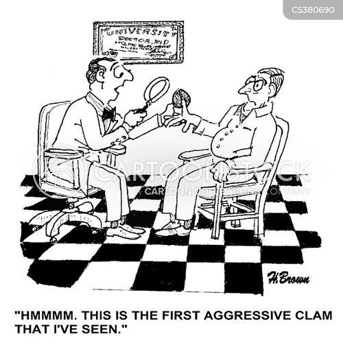 defence mechanisms cartoon