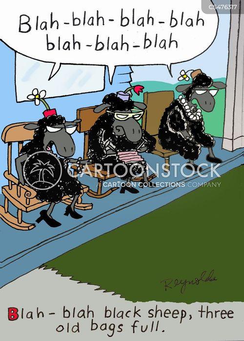 ba ba black sheep cartoon
