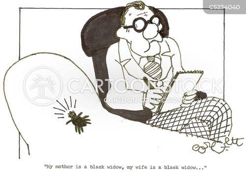 black widows cartoon