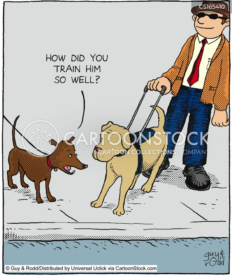 obedience cartoon