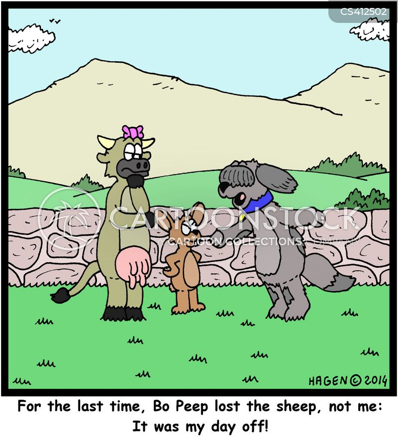 shepherdesses cartoon