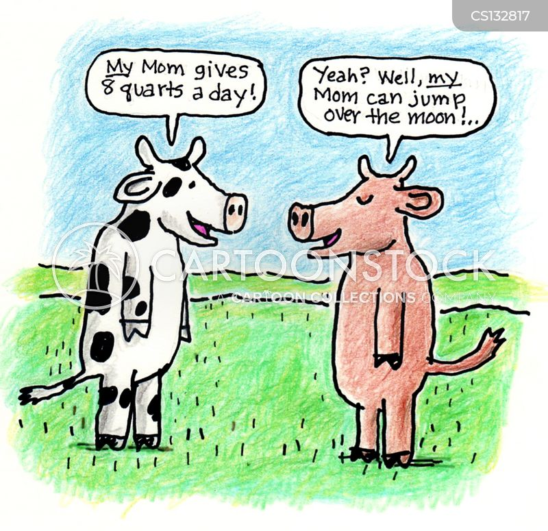 the cow jumped over the moon cartoon