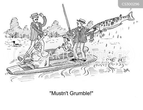 boating trip cartoon