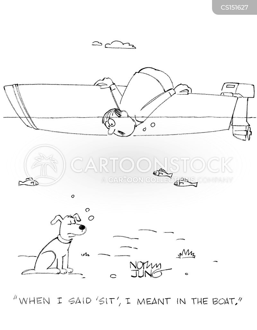 obedient dogs cartoon