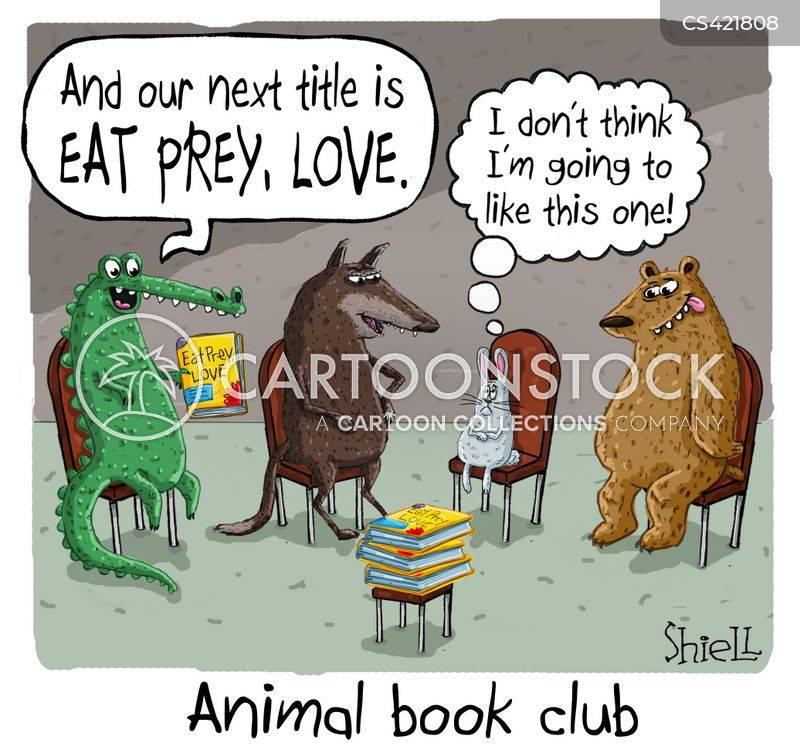 Image result for book club cartoon images