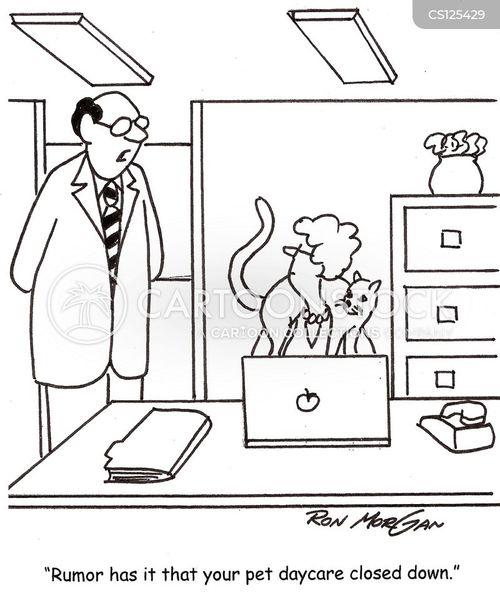 daycare centre cartoon