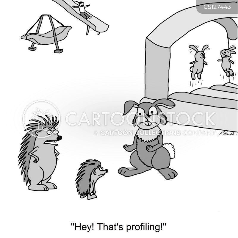 racial profiles cartoon