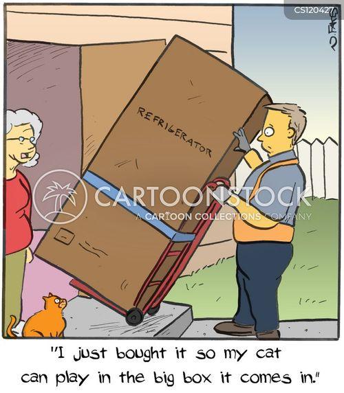 delivered cartoon