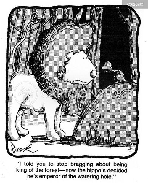 braggers cartoon