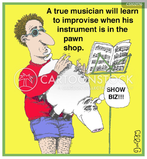 brass band cartoon