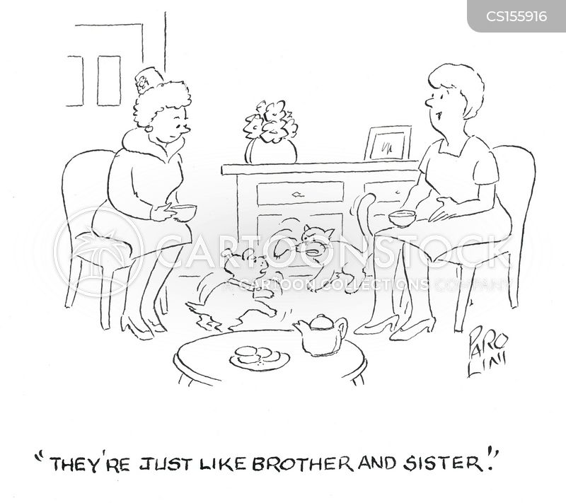 Brother And Sister cartoons, Brother And Sister cartoon, funny, Brother And Sister picture, Brother And Sister pictures, Brother And Sister image, Brother And Sister images, Brother And Sister illustration, Brother And Sister illustrations