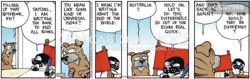 bucky cartoon