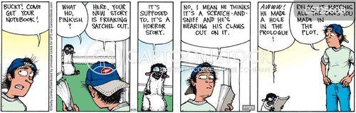 plot holes cartoon