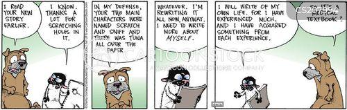 biographer cartoon