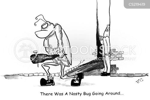 nasty bug cartoon