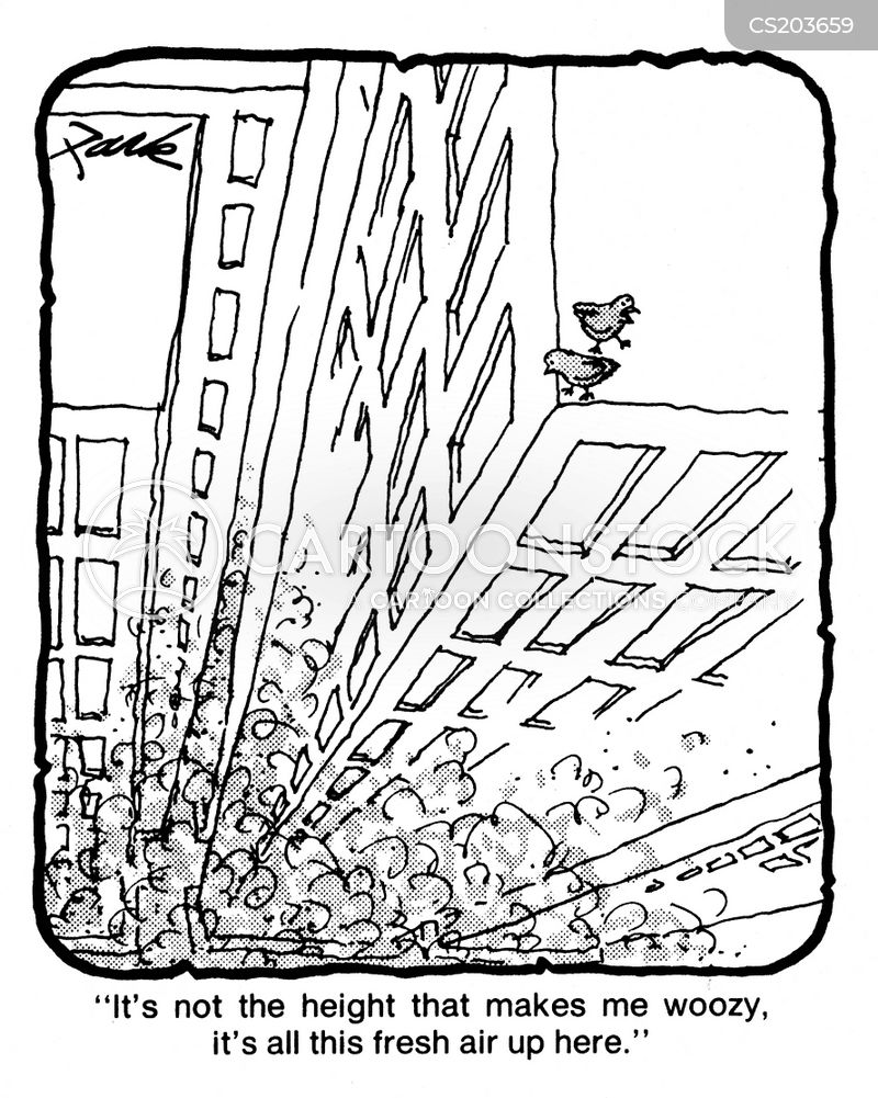 Fear Of Heights Cartoons and Comics - funny pictures from ...
