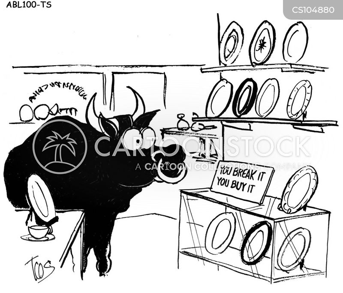 breakage cartoon