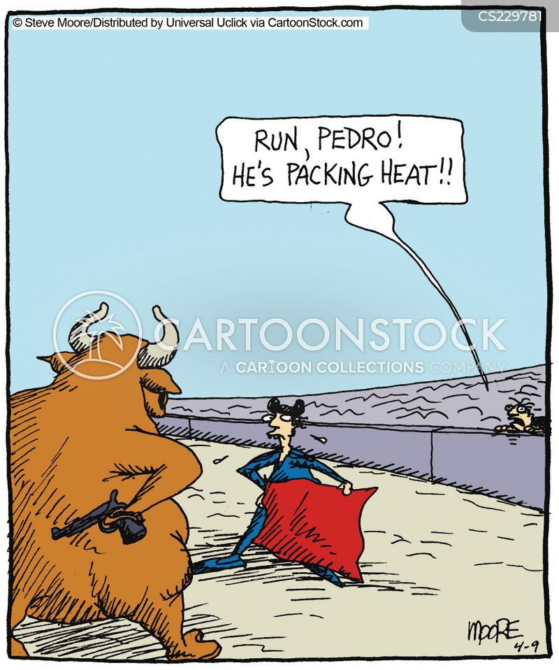 Bull Fighting cartoons, Bull Fighting cartoon, funny, Bull Fighting picture, Bull Fighting pictures, Bull Fighting image, Bull Fighting images, Bull Fighting illustration, Bull Fighting illustrations