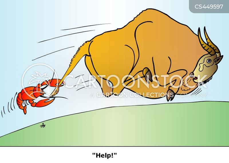 caught by the tail cartoon