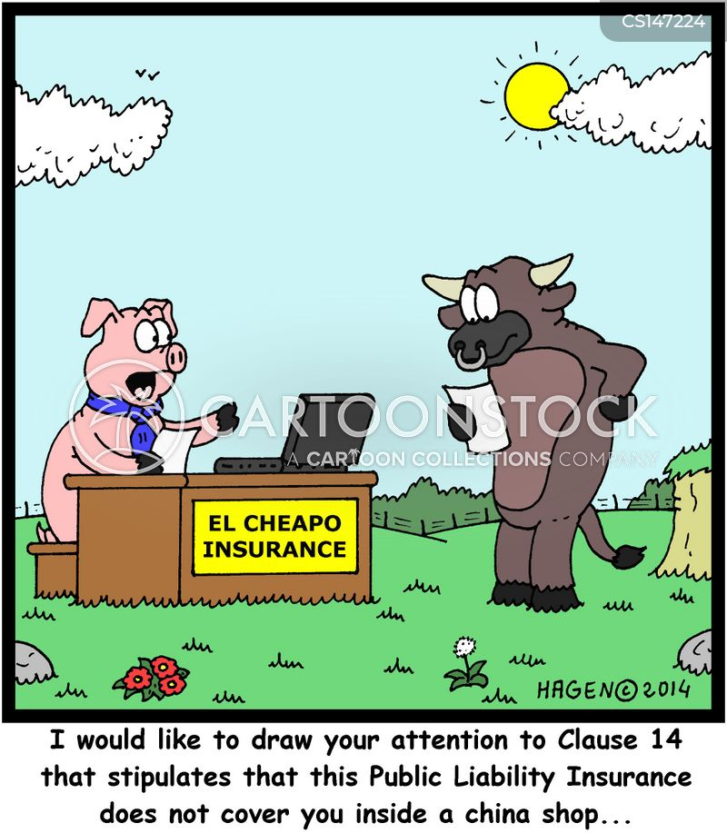 Bull In A China Shop Cartoons And Comics Funny Pictures