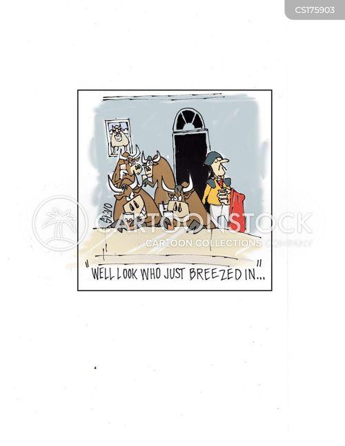 bullfighter cartoon