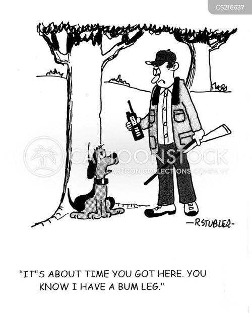 hunting season cartoon