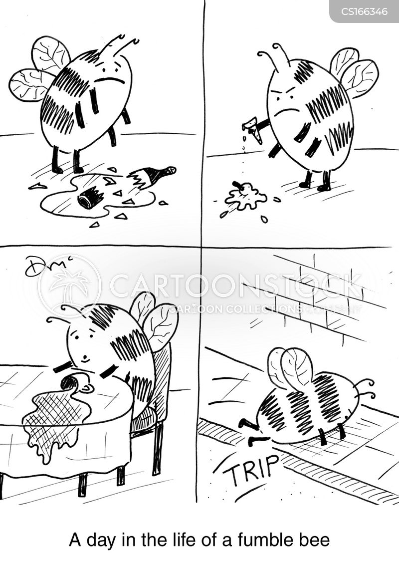 fumble bee cartoon