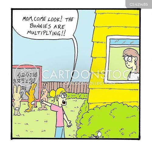 math skills cartoon
