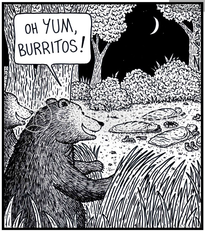 burrito cartoon