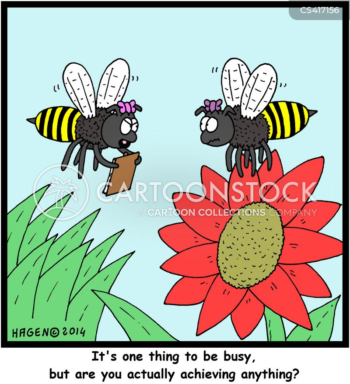 pollination cartoon
