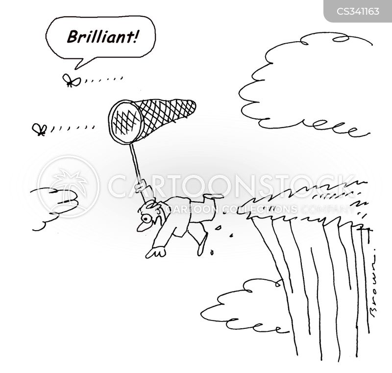 intelligent animal cartoon