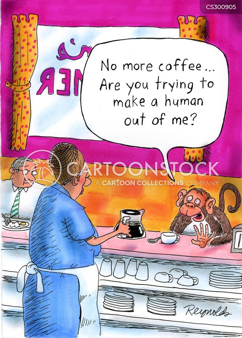 caffiene addicts cartoon