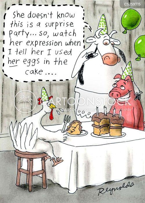 baked cartoon
