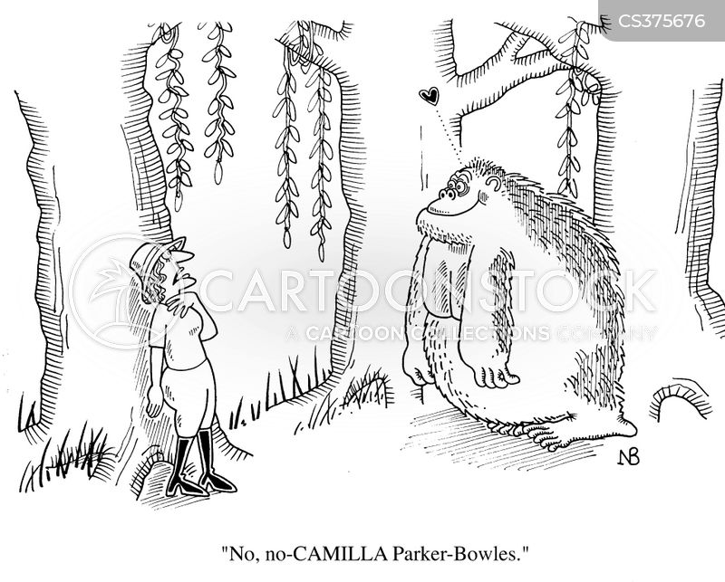 camilla parker bowles cartoon