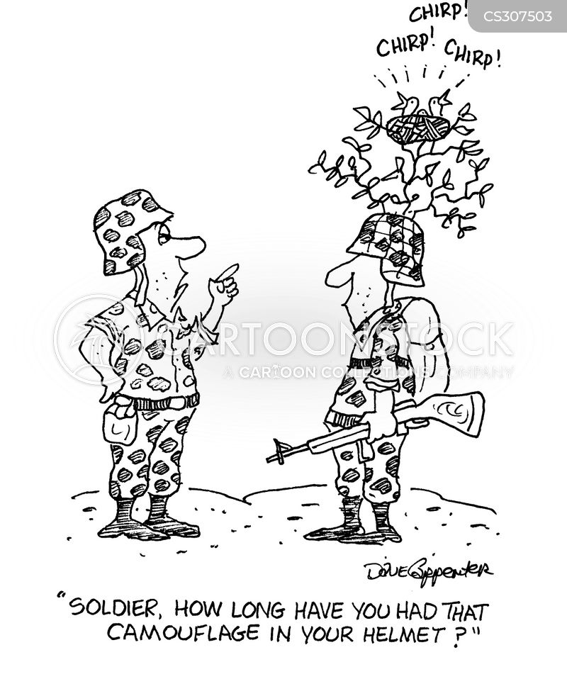 army uniform cartoon
