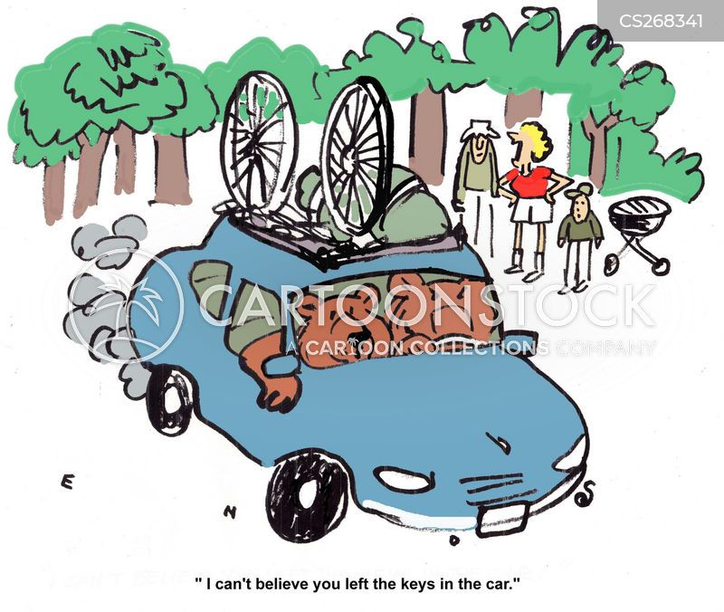 stolen cars cartoon