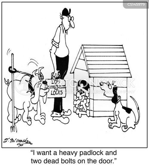 locksmith cartoon