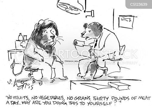 nutritional advice cartoon