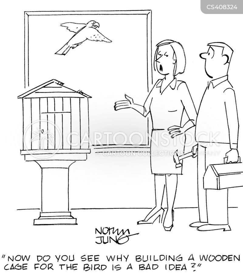 carpentry projects cartoon