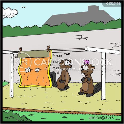 carpet beaters cartoon