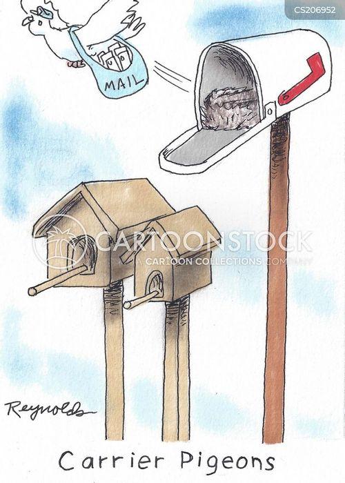 mailboxes cartoon