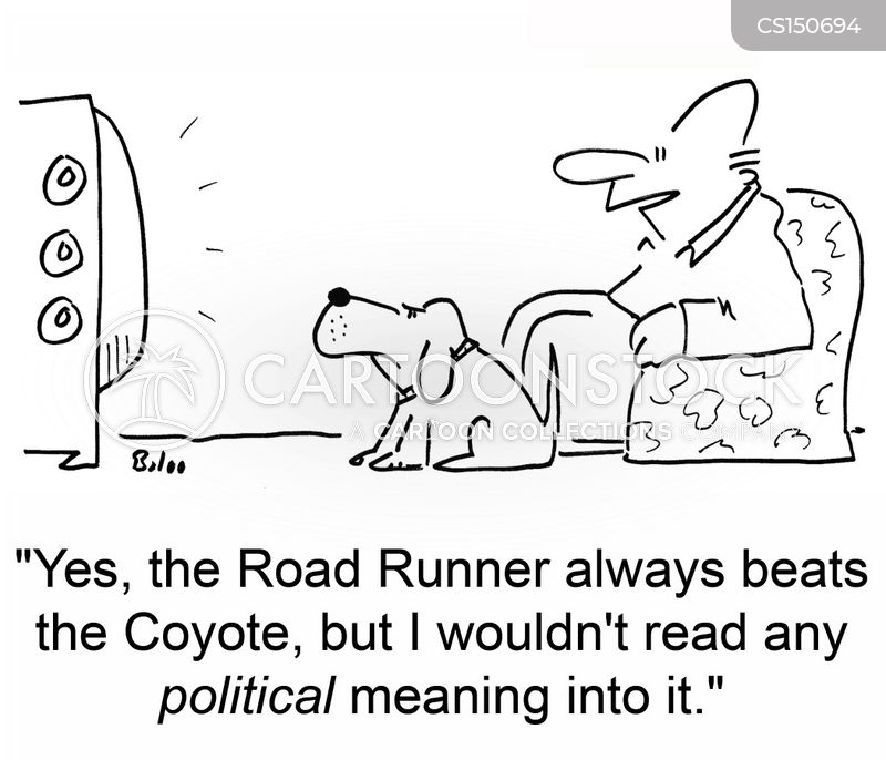 political meaning cartoon