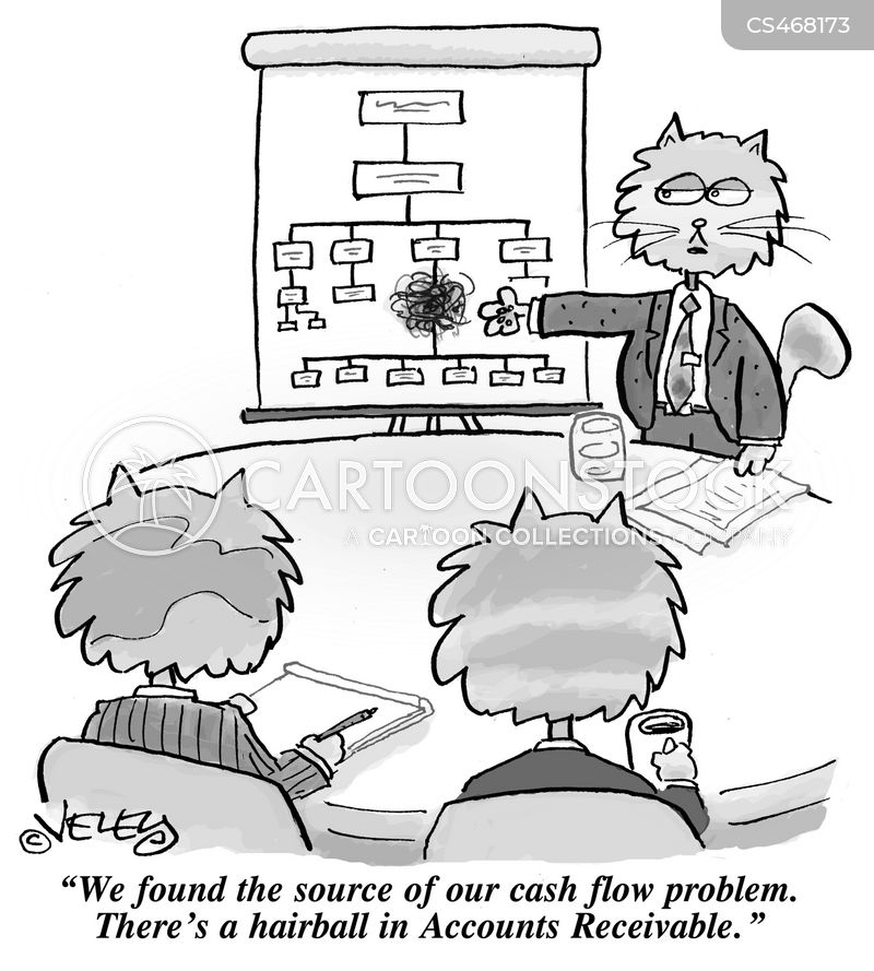 cash-flow cartoon